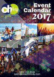 Coachhire4u.com - Event Calendar 2017