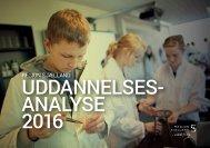 UDDANNELSES- ANALYSE 2016