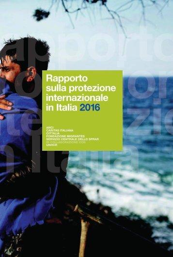 Rapporto sulla protezione internazionale in Italia 2016