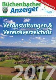 Veranstalungskalender Büchenbach