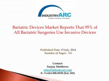 Bariatric Device Market