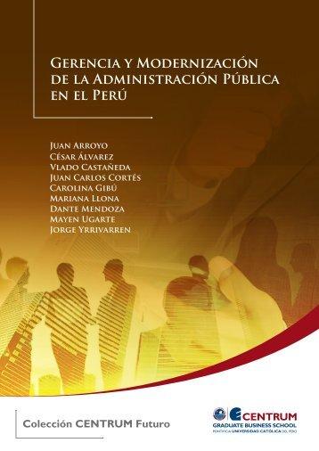 Gerencia y modernización de la Administración Pública en el Perú