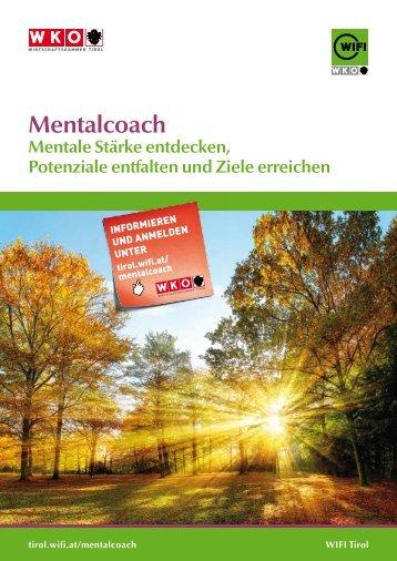 Ausbildung zum Mentalcoach