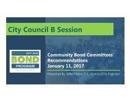 City Council B Session
