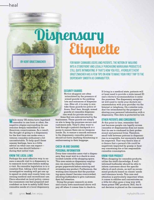 Hydrolife Magazine February/March 2017 (USA Edition)