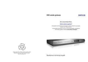 Philips Lecteur de DVD - Mode d'emploi - LIT