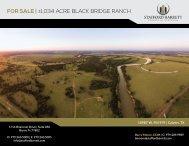 FOR SALE | ±1,034 ACRE BLACK BRIDGE RANCH
