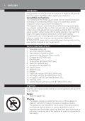 Philips Beardtrimmer series 7000 Tondeuse à barbe à système d'aspiration - Mode d'emploi - MSA - Page 4