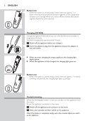 Philips Beardtrimmer series 7000 Tondeuse à barbe à système d'aspiration - Mode d'emploi - MSA - Page 6