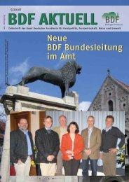 Ausgabe 05/08 - Bund Deutscher Forstleute (BDF)