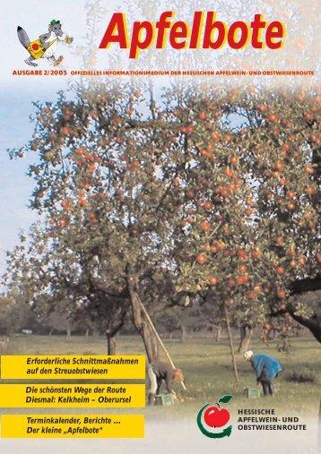 Apfelbote 2/ 2005 - Gutes aus Hessen