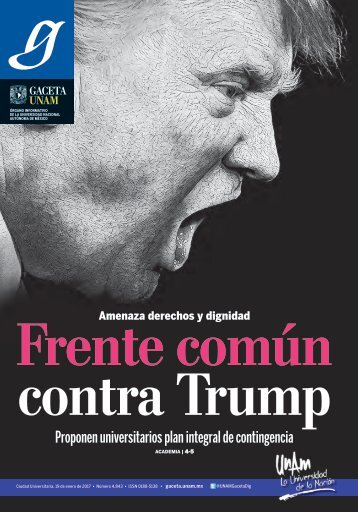 Frente común contra Trump