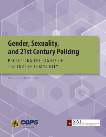 Gender Sexuality and 21st Century Policing