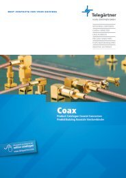 EN Coax Connectors and Components