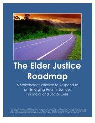The Elder Justice Roadmap