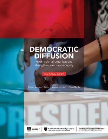 DEMOCRATIC DIFFUSION
