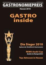 Hessen 2010 GASTRO inside - Gastronomiepreis