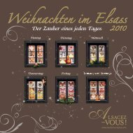 Weihnachten im Elsass - Agence de Développement Touristique du ...