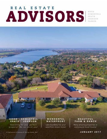The Real Estate Advisors Magazine - January 2017