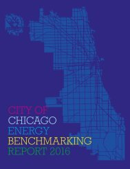 CITY OF CHICAGO ENERGY BENCHMARKING REPORT 2016