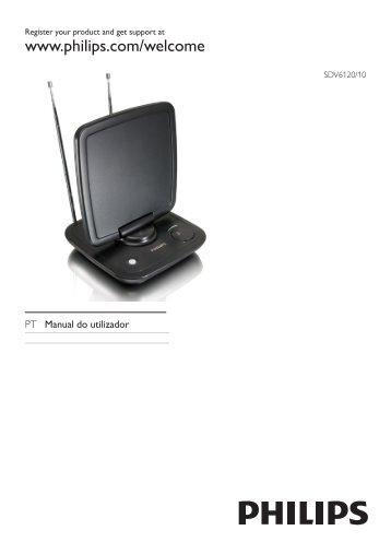 Philips Antenne TV - Mode d'emploi - POR