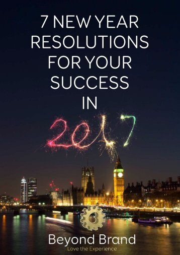 7 New Years Resolutions For Your Success in 2017