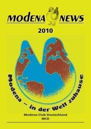 modena news modena news - beim Modena-Club Deutschland