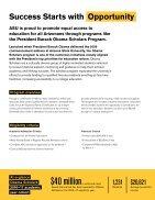 President Barack Obama Scholars Program Brochure - Page 2