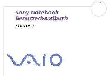 Sony PCG-C1MHP - PCG-C1MHP Istruzioni per l'uso Tedesco