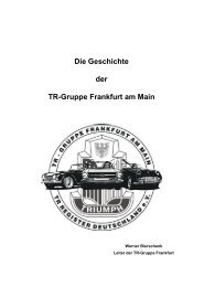 Die Geschichte der TR-Gruppe Frankfurt am Main - TR-Register