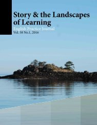 Story & the Landscapes of Learning