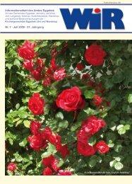 Nr. 7 · Juli 2009 · 37. Jahrgang Informationsblatt des ... - Amt Eggebek