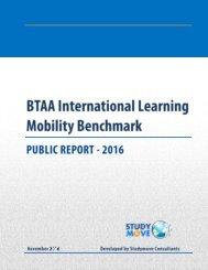 BTAA International Mobility Benchmark–2016 | Page 2