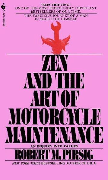 zen and the art of motorcycle fixing