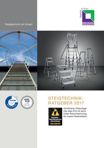Steigtechnik Ratgeber 2017
