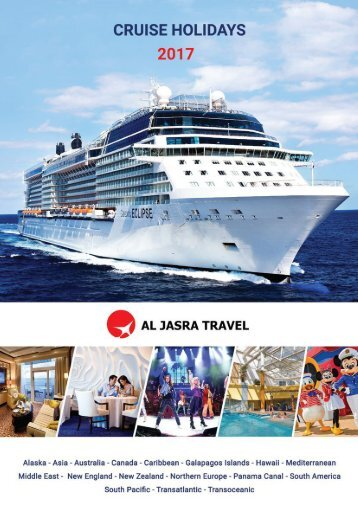 POPULAR CRUISES AROUND THE WORLD FIND YOUR PERFECT HOLIDAY WITH US