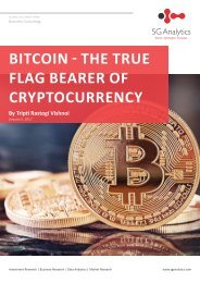BITCOIN - THE TRUE FLAG BEARER OF CRYPTOCURRENCY