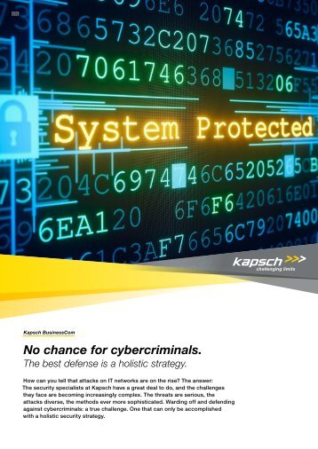 No chance for cybercriminals