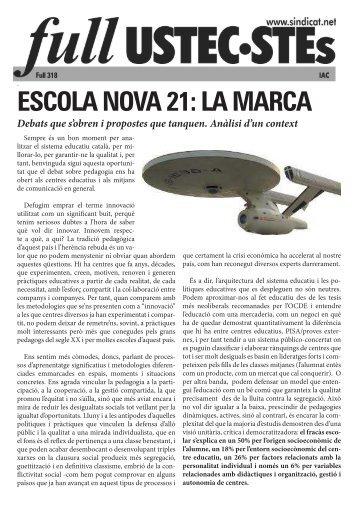 ESCOLA NOVA 21 LA MARCA