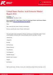 United-States-Nucleic-Acid-Extractor-Market-Report-2016