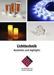 ETT Online Lichttechnik LED Lampen Katalog