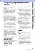 Sony DSC-W380 - DSC-W380 Guida all'uso Polacco - Page 3