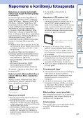 Sony DSC-W380 - DSC-W380 Guida all'uso Croato - Page 3