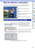 Sony DSC-W380 - DSC-W380 Istruzioni per l'uso Rumeno - Page 2