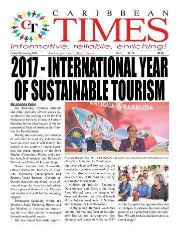 Caribbean Times 80th Issue - Friday 20th January 2017