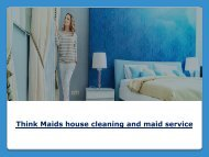 Think Maids Cleaning Service