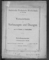 Verzeichnis der Vorlesungen und Übungen samt den Stunden- und Studienplänen Zwischensemester 2. Wintersemester 1918/19
