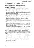 Sony VGN-NW2MTF - VGN-NW2MTF Documenti garanzia Spagnolo - Page 5