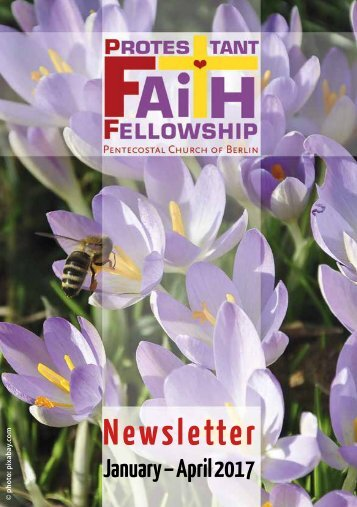 PFF Newsletter · Jan-Apr 2017
