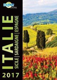 Brochure Italie - Sicile - Sardaigne - Espagne